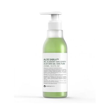 Botanicapharma – Aloe Sabila żel aloesowy 100% czysty (250 ml)