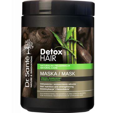Dr. Sante Detox Hair – maska regenerująca do włosów z węglem bambusowym (1000 ml)