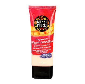 Tutti Frutti – nawilżający krem smoothie do dłoni i paznokci Brzoskwinia & Mango (75 ml)