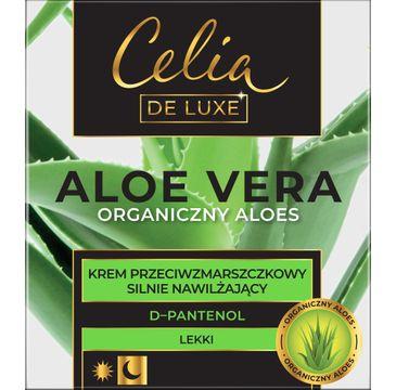 Celia Aloe Vera Lekki Krem przeciwzmarszczkowy Silnie Nawilżający (50 ml)