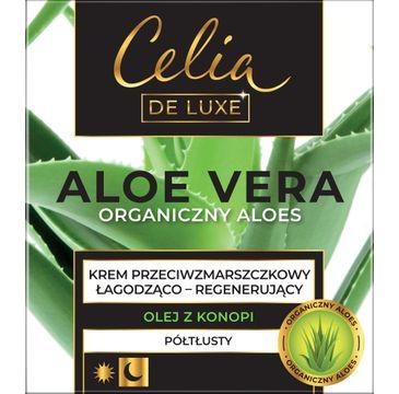 Celia Aloe Vera Półtłusty krem przeciwzmarszczkowy Łagodząco-Regenerujący (50 ml)
