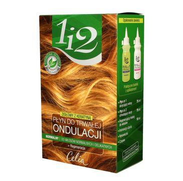 Celia do włosów 1 i 2 płyn do trwałej ondulacji Ziołowy z keratyną - normalny 1 op.