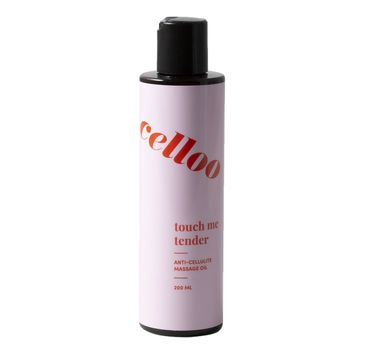 Celloo Touch Me Tender olejek antycellulitowy do masażu (200 ml)