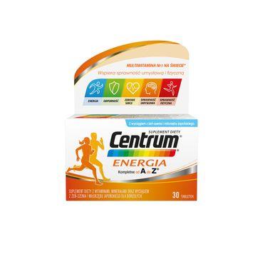 Centrum Energia witaminy z wyciągiem z żeń-szenia suplement diety (30 tabletek)