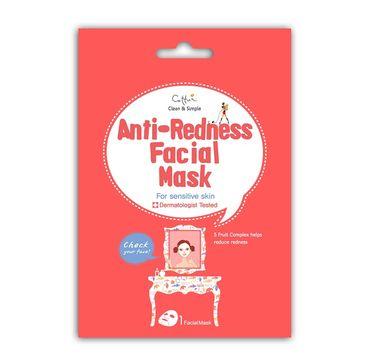 Cettua Anti-Redness Facial Mask maska niwelująca zaczerwienienia