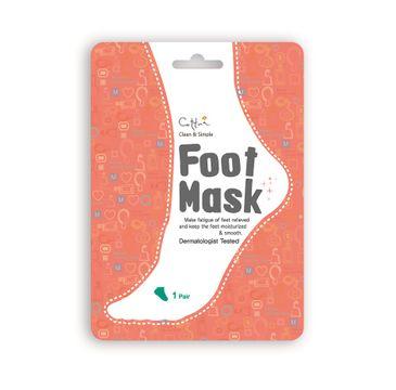 Cettua Foot Mask maska nawilżająca do stóp