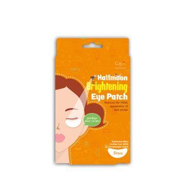 Cettua Halfmoon Brightening Eye Patch 10 rozjaśniające plastry na cienie pod oczami (10 szt.)