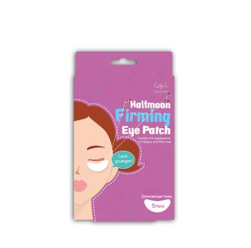 Cettua Halfmoon Firming Eye Patch 10 ujędrniające plastry pod oczy 10 sztuk
