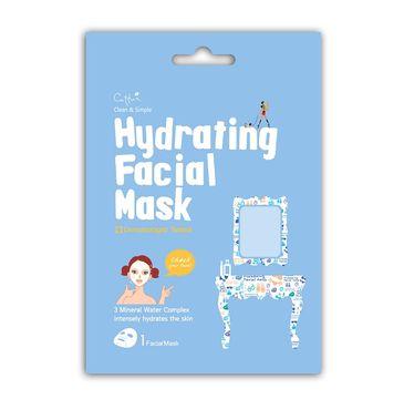 Cettua Hydrating Facial Mask intensywnie nawilżająca maska do twarzy w płacie