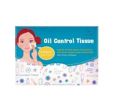 Cettua Oil Control Tissue bibułki matujące (50 szt.)