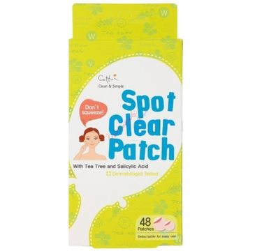 Cettua Spot Clear Patch 48 plaster samoprzylepny na wypryski 48 sztuk