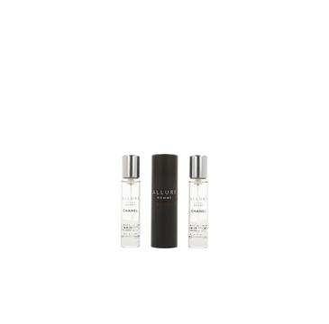 Chanel Allure Homme Sport woda toaletowa 3 x 20ml spray z wymiennym wkładem