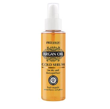 Chantal Prosalon Argan Oil Hair Repair Gold Serum For Dry & Damaged Hair serum do włosów z olejkiem arganowym 100ml