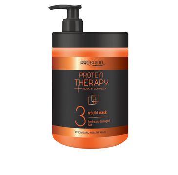 Chantal Prosalon Protein Therapy Keratin Complex 3 Mask For Dry And Damaged Hair maska odbudowująca Keratyna & Ekstrakt z Aloesu 1000g