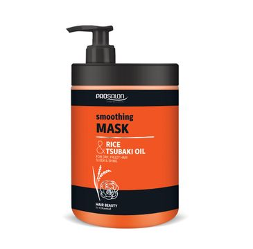 Chantal Prosalon Smoothing Mask wygładzająca maska do włosów Ryż & Olej Tsubaki (1000g