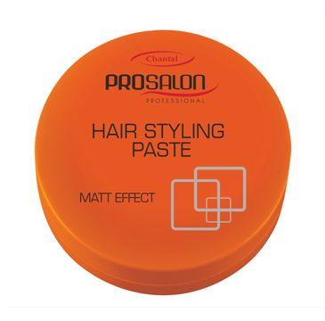 Chantal Prosalon Style Hair Styling Paste Matt Effect pasta do układania włosów 100g
