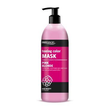 Chantal Prosalon Toning Color Mask maska tonująca kolor Pink Blonde (500 g)