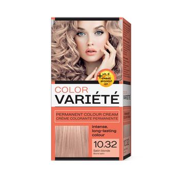 Chantal Variete Color Permanent Color Cream farba trwale koloryzująca 10.32 Satynowy Blond (50 g)
