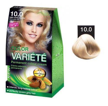 Chantal Variete Color Permanent Color Cream farba trwale koloryzująca 10.0 Jasny Piaskowy Blond 50g