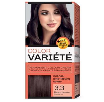 Chantal Variete Color Permanent Color Cream farba trwale koloryzująca 3.3 Ciemna Czekolada (50 g)