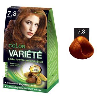 Chantal Variete Color Permanent Color Cream farba trwale koloryzująca 7.3 Koniak 50g