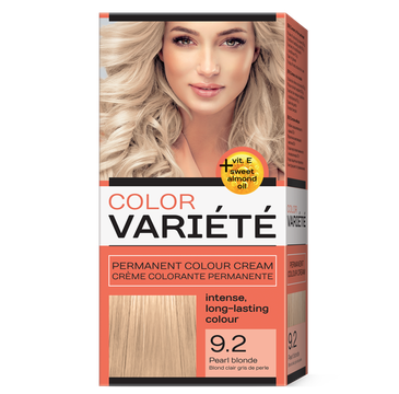 Chantal Variete Color Permanent Color Cream farba trwale koloryzująca 9.2 Perłowy Blond (1 op.)