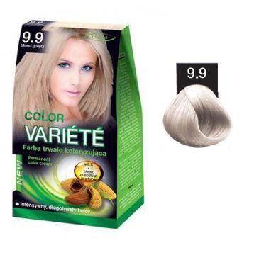 Chantal Variete Color Permanent Color Cream farba trwale koloryzująca 9.9 Blond Gołębi 50g