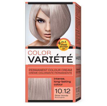 Chantal Variete Color Permanent Colour Cream farba trwale koloryzująca 10.12 Srebrzysty Blond (110 g)
