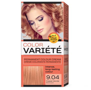 Chantal Variete Color Permanent Colour Cream farba trwale koloryzująca 9.04 Miedziany Blond (110 g)