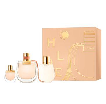 Chloe Nomade zestaw prezentowy woda perfumowana spray 75ml + balsam do ciała 100ml + miniatura wody perfumowanej 5ml