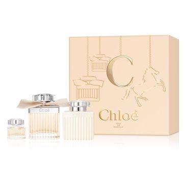 Chloe Signature zestaw woda perfumowana spray 75ml + miniaturka wody perfumowanej spray 5ml + balsam do ciała 100ml
