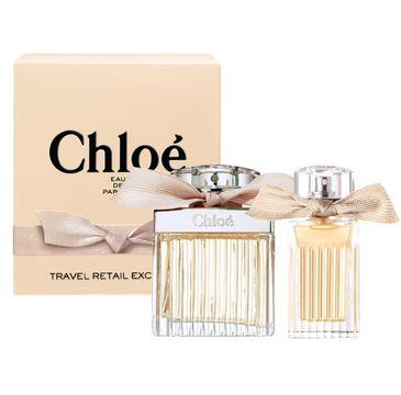 Chloe Travel Retail Exclusive zestaw prezentowy prezentowy woda perfumowana spray 75 ml + miniatura wody perfumowanej spray 20 ml