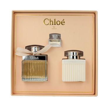 Chloe –zestaw woda perfumowana (75ml) + balsam do ciała (100ml) + woda perfumowana miniaturka ( 5ml )