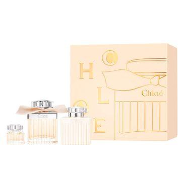 Chloe zestaw woda perfumowana spray 75ml + balsam do ciała 100ml + miniatura wody perfumowanej 5ml