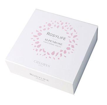 Chlorys – Rosylife Alpenrose For Eternal Youth zestaw przeciwzmarszkowy krem na dzień 50ml + przeciwzmarszczkowe serum do twarzy 10ml + przeciwzmarszczkowy krem na noc 10 ml (1 szt.)