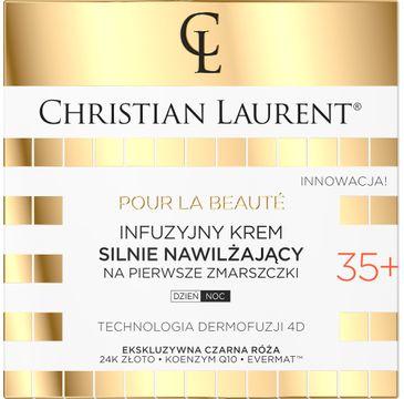 Christian Laurent 35+ Infuzyjny Krem silnie nawilżający na pierwsze zmarszczki na dzień i noc (50 ml)