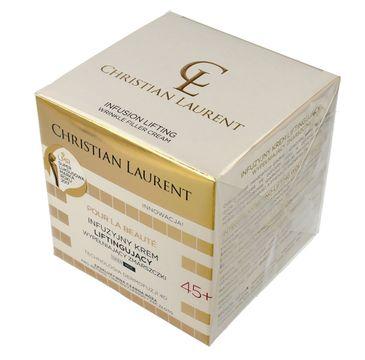 Christian Laurent 45+ Infuzyjny krem liftingujący wypełniający zmarszczki na dzień i noc 50 ml