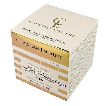 Christian Laurent 55+ Infuzyjny krem przeciwzmarszczkowy odbudowujący na dzień i noc 50 ml