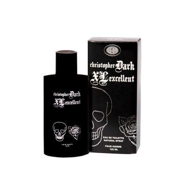 Christopher Dark Men XL Excellent woda toaletowa męska 100 ml