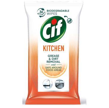 Cif Chusteczki nawilżane do czyszczenia kuchni (36 szt.)