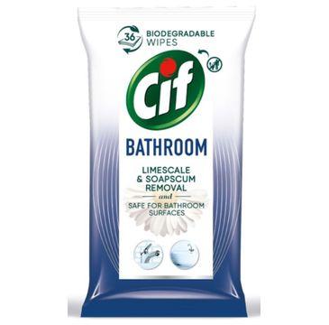 Cif Chusteczki nawilżane do czyszczenia łazienek (36 szt.)