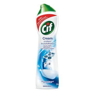 Cif Cream Original mleczko z mikrokryształkami do czyszczenia powierzchni 540g