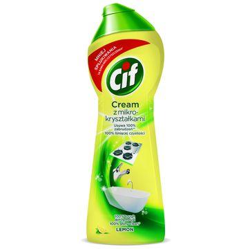 Cif Lemon Cream mleczko do czyszczenia z mikrokryształkami  300 g