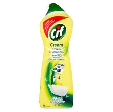 Cif Lemon Cream mleczko do czyszczenia z mikrokryształkami 780 g