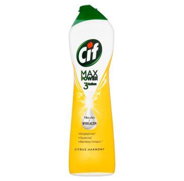 Cif Max Power mleczko do czyszczenia z wybielaczem Citrus Harmony 693 g