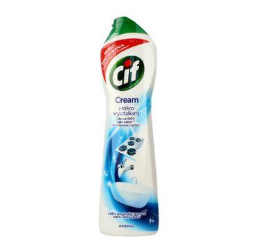 Cif Original Cream Mleczko do czyszczenia z mikro-kryształkami  540 g