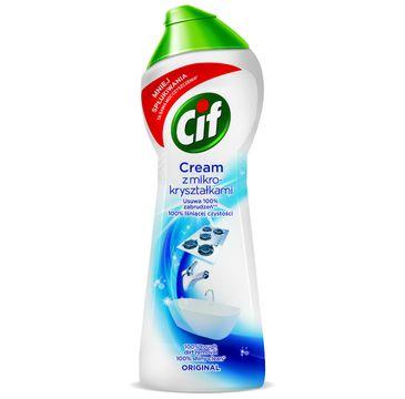 Cif Original Cream mleczko do czyszczenia z mikrokryształkami 300 g