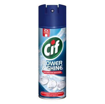 Cif Power & Shine Bathroom Mousse piana czyszcząca do łazienki 500ml