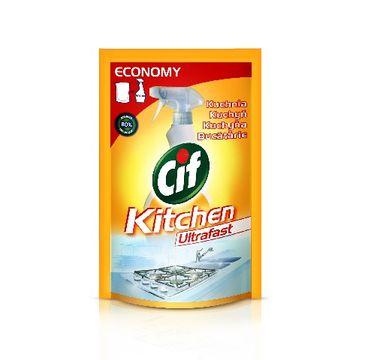 Cif ultraszybki spray do kuchni zapas 500 ml