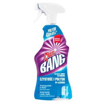Cillit Bang Czystość i Połysk W Łazience uniwersalny środek czyszczący spray 750ml